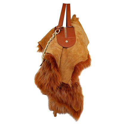 Vivienne Westwood Handbag with eco fur