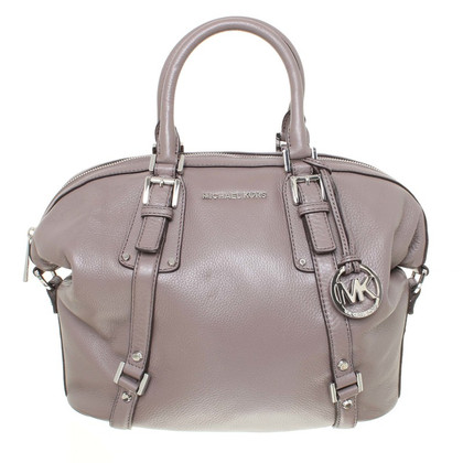 Michael Kors Leather shoulder bag in Taupe