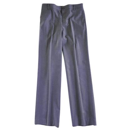 Bottega Veneta Grijze wol getailleerde broek