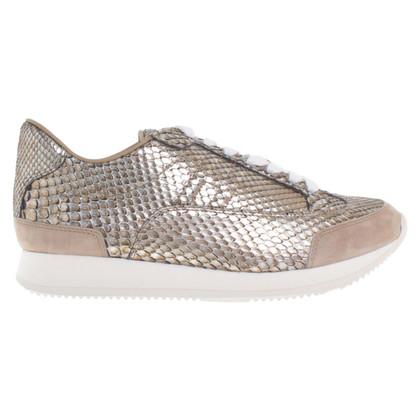 Hermès Snakeskin sneakers