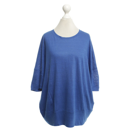 Riani camicia di lino in blu