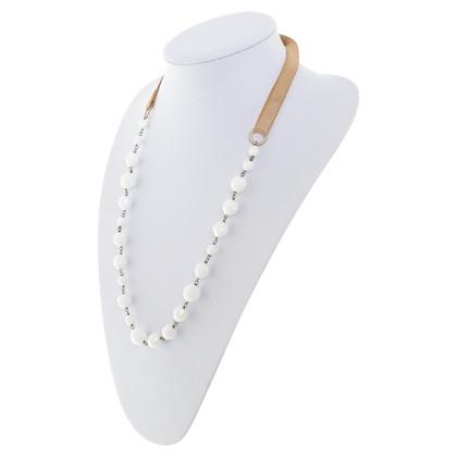 Prada Collana con pietre semi-preziose