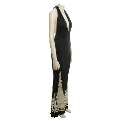 Blumarine Avond zijden jurk