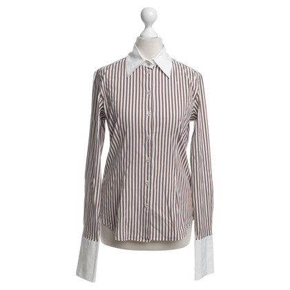 Van Laack Blouse with striped pattern