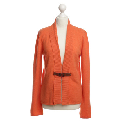Brunello Cucinelli Cashmere sweater in Orange