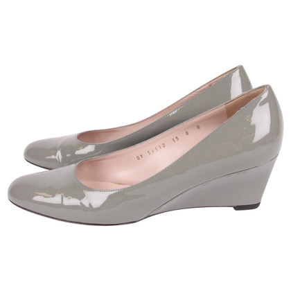 Salvatore Ferragamo Lackleder-Wedges