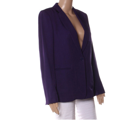Sandro Blazer in Purple