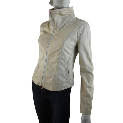 Armani Jeans Leather jacket in beige