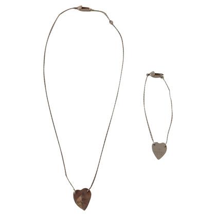 Gucci Necklace + Bracelet
