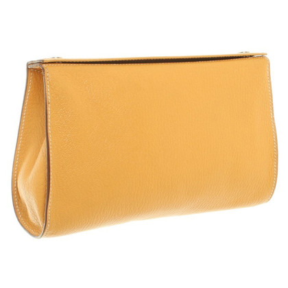 Hermès Trousse in giallo