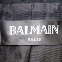 Balmain Runway blazer made of lamb suede