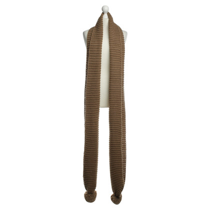 Twin-Set Simona Barbieri Mt Bobble knit scarf