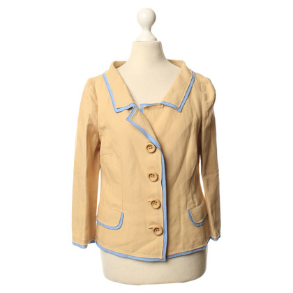 Moschino Cheap and Chic Leichter Blazer in Beige