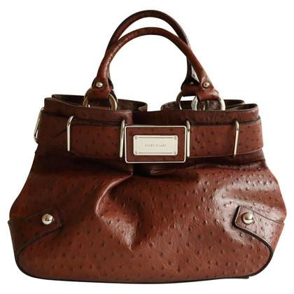 Karen Millen Handtasche mit Straußenprägung