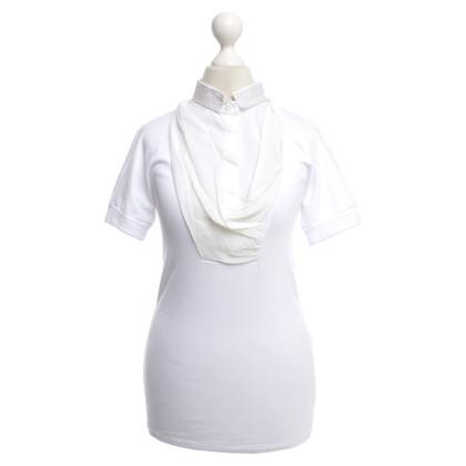 Brunello Cucinelli T-shirt con drappeggio