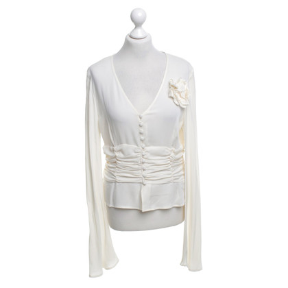Escada Silk blouse in cream