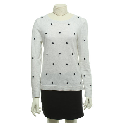J. Crew Sweater with dots pattern