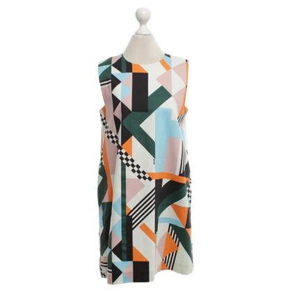 MSGM Kleid mit Print