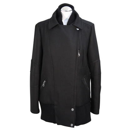 French Connection Coat in black