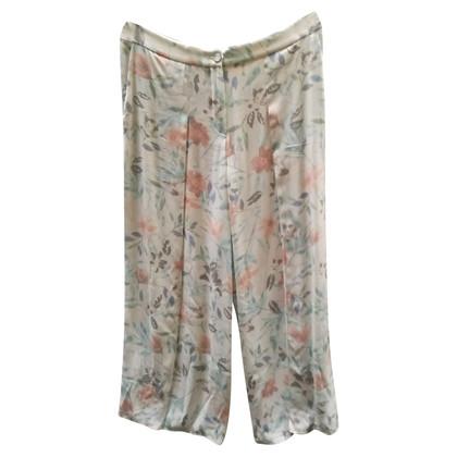 Armani Collezioni Pantaloni con motivo floreale