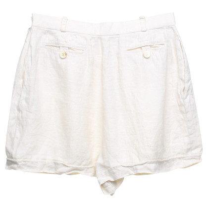 Chanel Shorts in creamy white