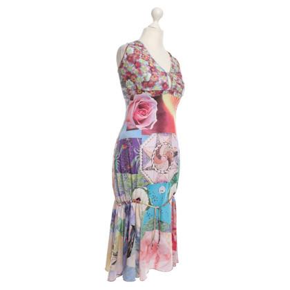 Roberto Cavalli Dress with pattern print