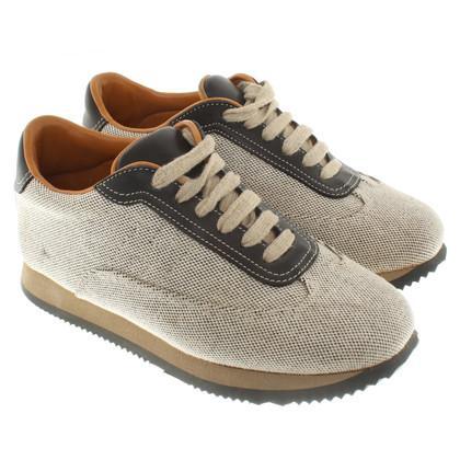 Hermès Sneakers in beige