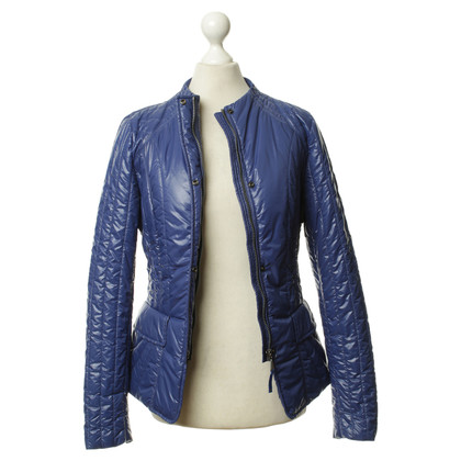 Jet Set Quilted Jacket in blue