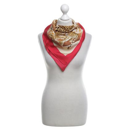 Salvatore Ferragamo Zijden sjaal met motief