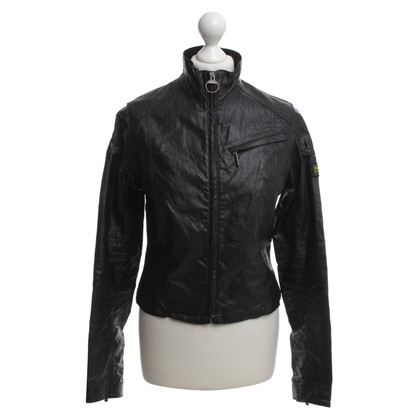 Barbour Lino-Jacket in Black