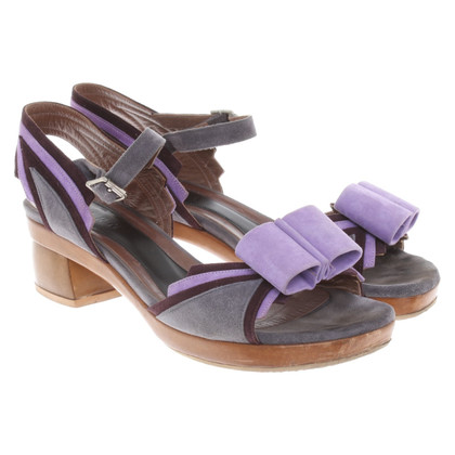 Marni Sandalen met een strik