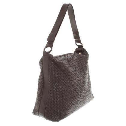 Bottega Veneta Leather handbag in Brown