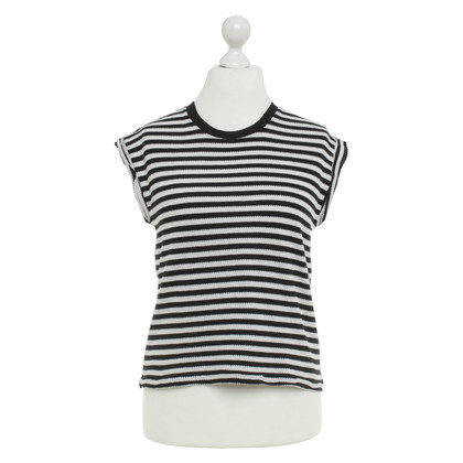 Drykorn top with stripe pattern