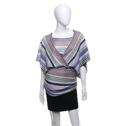 Missoni Chemise en tricot multicolore