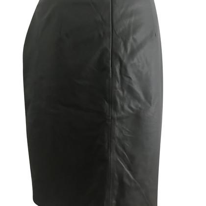 Steffen Schraut leather skirt