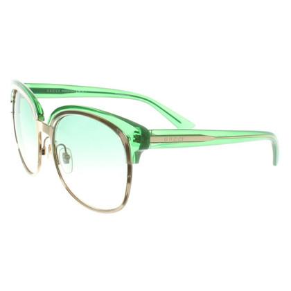 Gucci Occhiali da sole in bicolor