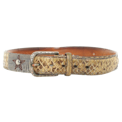 Reptile's House Belt reptile leather