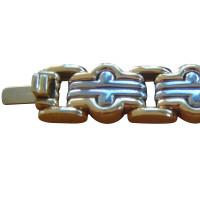 Bulgari Armband aus Gelbgold/Stahl