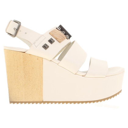 Vic Matie Leather wedges