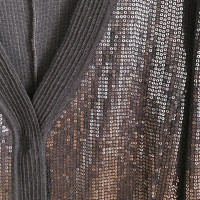 Giorgio Armani Woolen jacket with paillettes