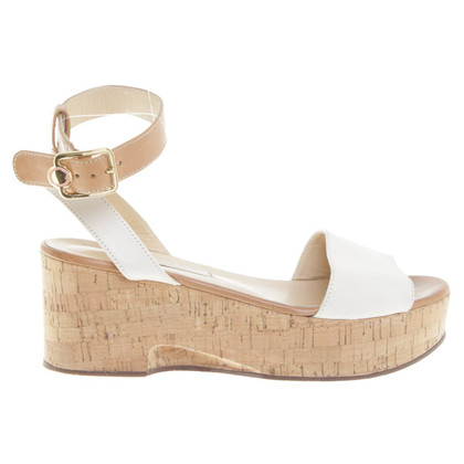 L'autre Chose Sandals with wedge heel