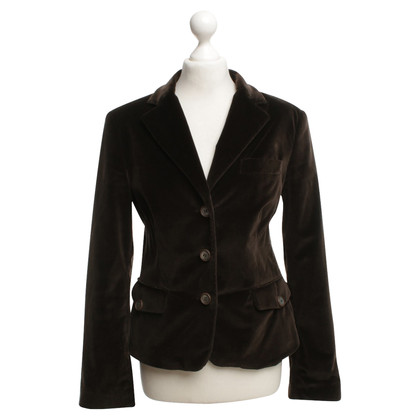 Red Valentino Velvet blazer Brown