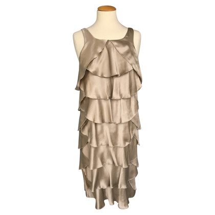 Paule Ka Frilly silk dress