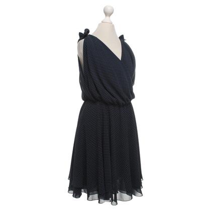 Andere Marke Les Copains - Kleid in Blau/Weiß