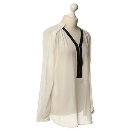 Other Designer Carell Thomas - blouse faux leather