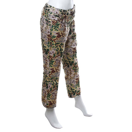 Other Designer Philosophy - trousers with floral pattern