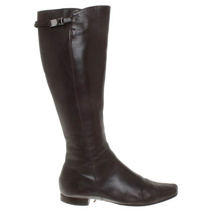 Max Mara Boots in dark brown