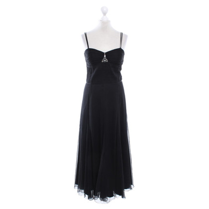 Laurèl Silk dress in black