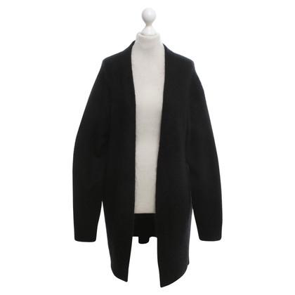 Acne Oversized cardigan in black