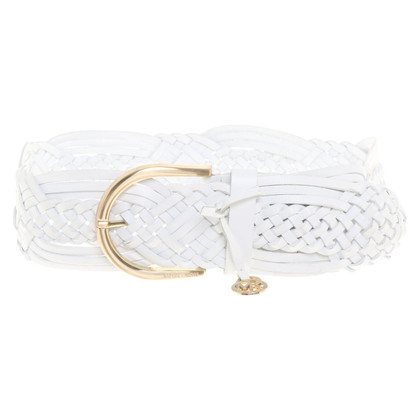 Michael Kors Waist belt in white